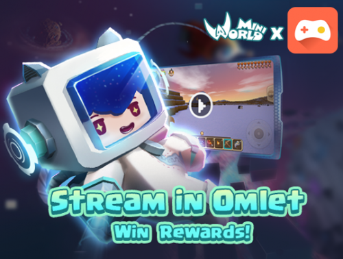 Just Stream on Omlet to Win Special Skins