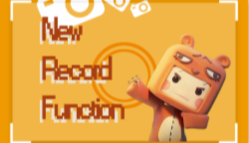 New Update 0.28.5 Record Function is up!