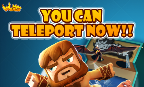 You Can Teleport Now!!